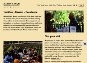 martinranchwinery.com