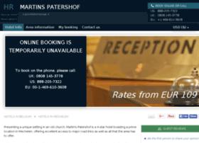 martins-patershof.hotel-rez.com