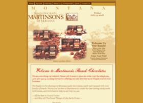martinsonsranchchocolates.com