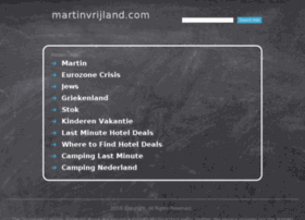 martinvrijland.com