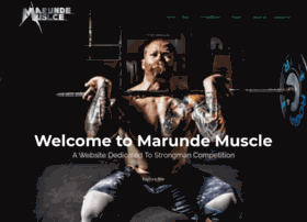 marunde-muscle.com