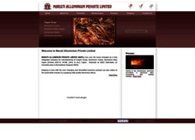marutialluminium.com