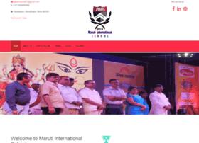 marutiinternationalschool.com
