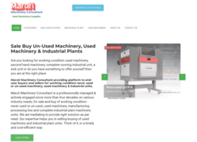 marutimachinery.com