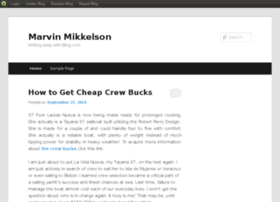 marvinmikkelson.blog.com