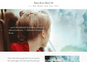 mary-rosemaccoll.com