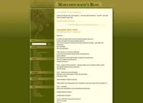 maryamnuraini.wordpress.com