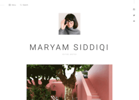 maryamsiddiqi.com