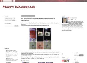 maryinwonder.blogspot.kr