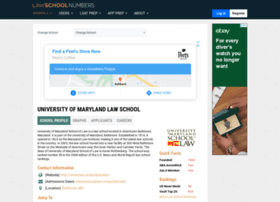 maryland.lawschoolnumbers.com