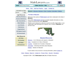 Maryland.statelawyers.com