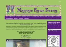 marylandfaeriefestival.org