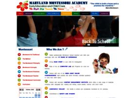 marylandmontessoriacademy.com