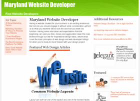 marylandwebsitedeveloper.com