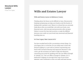 marylandwills.wordpress.com
