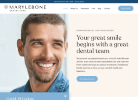 marylebone-dental.co.uk