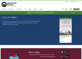 maryrileyva.libraryreserve.com