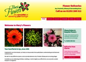 marysflowers.co.uk