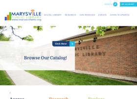 marysvillelib.org