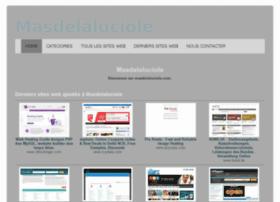 masdelaluciole.com