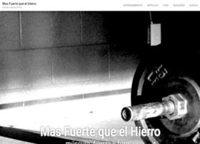 masfuertequeelhierro.com