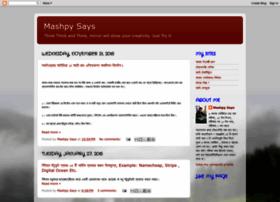 mashpysays.blogspot.com