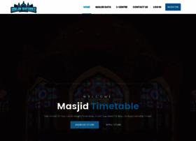 masjid-timetable.com