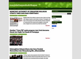 masjidattaqwabukitkapar.blogspot.com