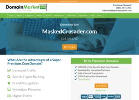 maskedcrusader.com