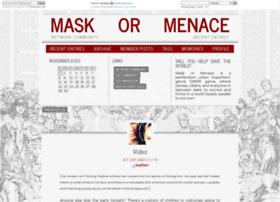 maskormenace.dreamwidth.org