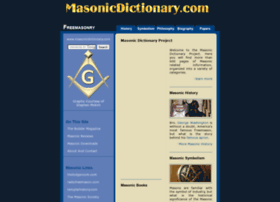 masonicdictionary.com