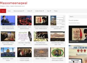 masoomeenaqwal.com