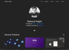 masoudhaghi.com
