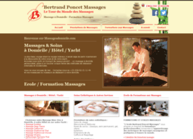 massageadomicile.com