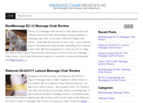 massagechairreviewshq.com