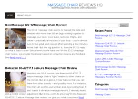 massagechairreviewshq.com