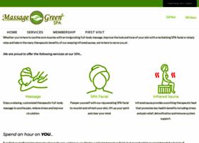 massagegreenspa.com