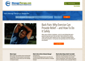 massagetherapy.com