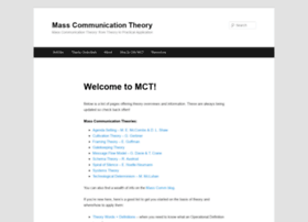 masscommtheory.com