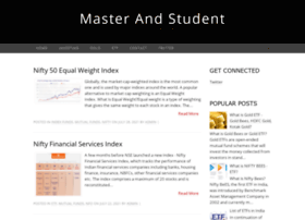 masterandstudent.com
