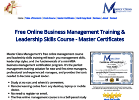 masterclassmanagement.com