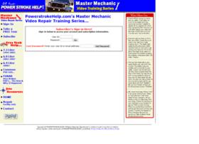 mastermechanic.powerstrokehelp.com