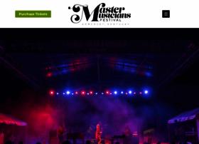 mastermusiciansfestival.org