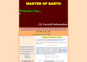 masterofearth.info