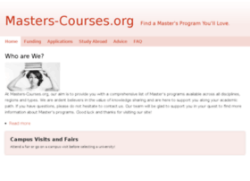 masters-courses.org