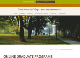 masters.greenmtn.edu