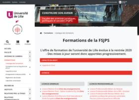 mastersciencepo.univ-lille2.fr