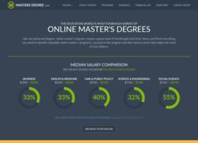 mastersdegree.com