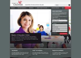 mastersed.uc.edu