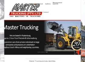 mastertrucking.co.za